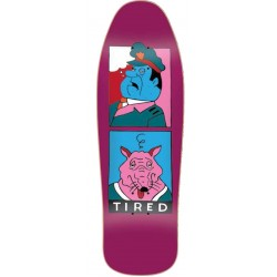 Planche de skate Tired Skateboards Cop and Rat 1989 9.7