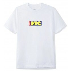 Buttergoods X FTC Skateboarding Flag Tee White