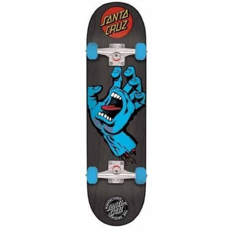 Santa Cruz Skateboards Screaming Hand Mid Completes 7.25 Black