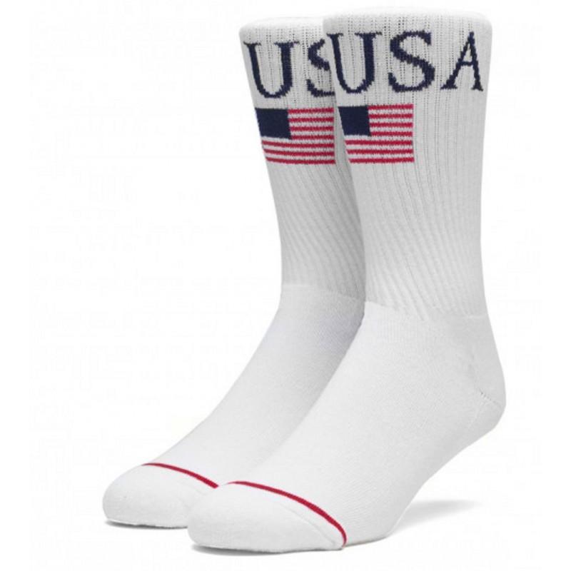 Huf World Tour Crew Socks