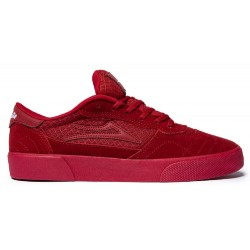 Lakai Cambridge X Chocolate Red Reflective Suede