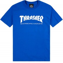 Thrasher Skate Mag Tee Royal