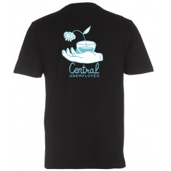 Unemployed X Central Skateshop Collab Tee Black