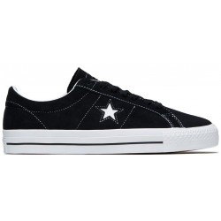 Chaussure Converse Cons One Star Pro Ox Black White