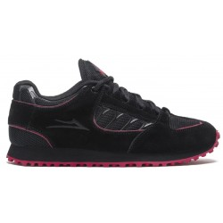 Lakai Carroll X Thrasher Black Red Suede