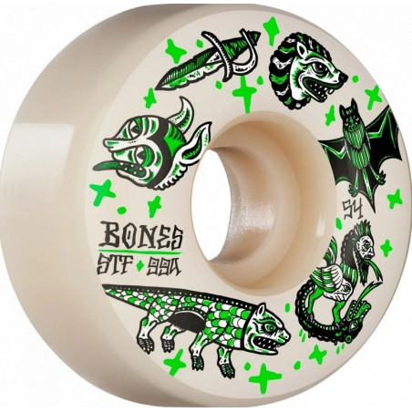 Bones STF Dark Knights Wheels 99A 54mm V1 Natural