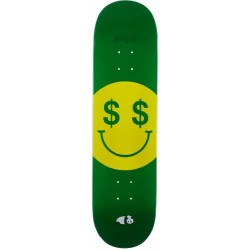 Enjoi Skateboards Cash Money R7 Green Deck 8.25