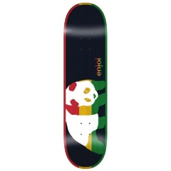 Planche Enjoi Skateboards Rasta Veneer R7 Black Deck 8.375