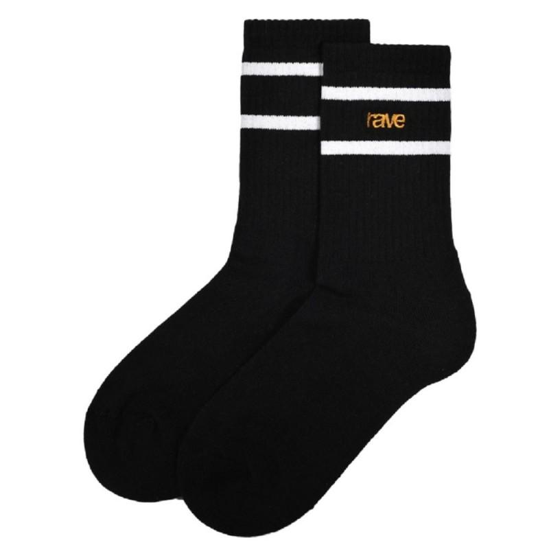 Rave Skateboards Logo Socks