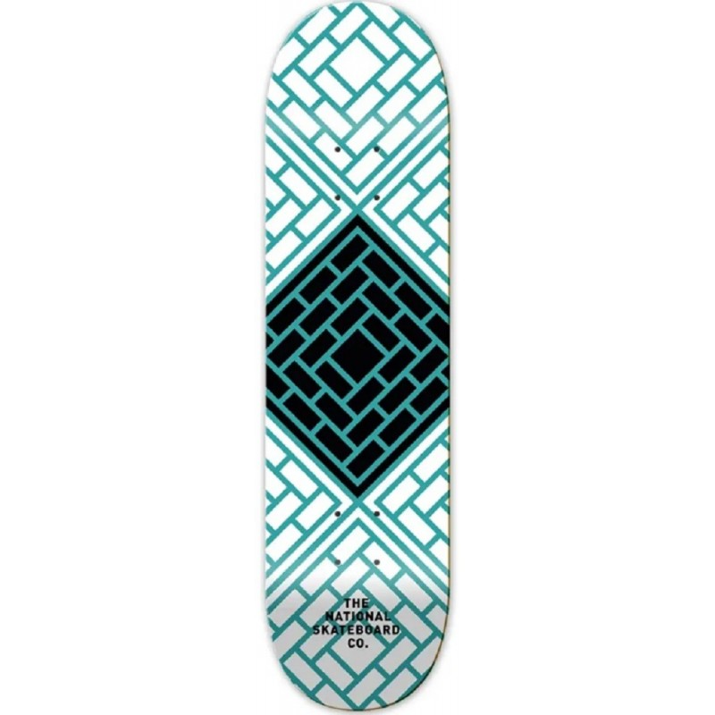Planche The National Skate Co Classic Blue Deck 8.5