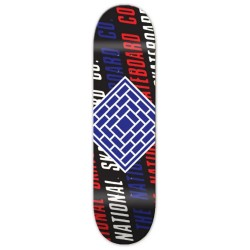 Planche The National Skateboards Slant Logo Black 8.125