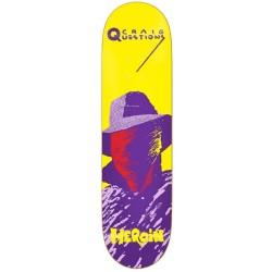 Heroin Skateboards Giallo Craig Questions Deck 8.75