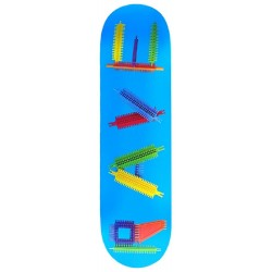 Planche Rave Skateboards Clipo Blue Deck 8.5
