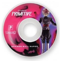 Primitive Skateboards Goku Black Rose Wheels 54mm 99A