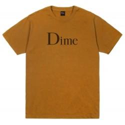 Dime Classic Logo Tee Coffee