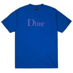 Dime Classic Logo Tee Cobalt