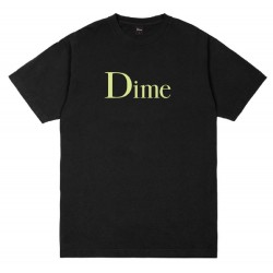 Dime Classic Logo Tee Black