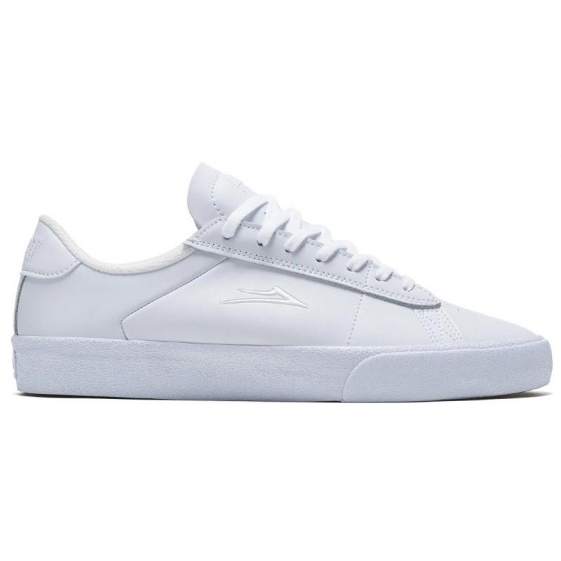Lakai Newport White Leather