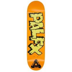Palace Skateboards Nein FX Orange Deck 8.1