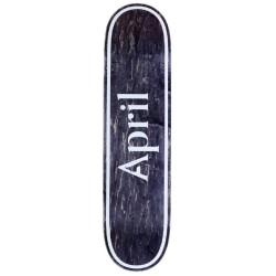 Planche April Skateboards OG Logo Invert Black 8.5