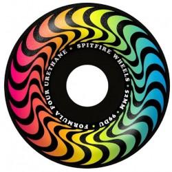 Spitfire Wheels F4 Radials Trippy Swirl Black 52 mm 99A
