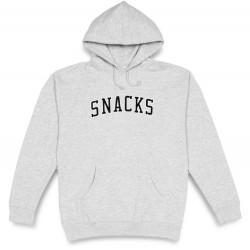 Quartersnacks Snacks Varsity Hoodie Heather Grey