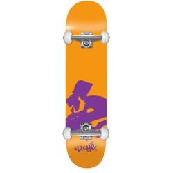 Cliché Skateboards Complete Europe Orange 7.875