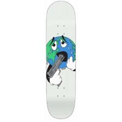 Quasi Skateboards World White Deck 8.375