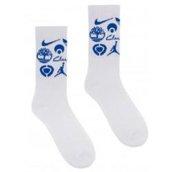 Classic Grip Sponsor Socks White
