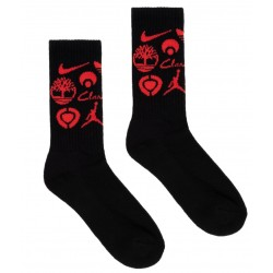 Classic Grip Sponsor Socks Black