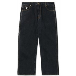 Buttergoods Gullwing Denim Pants (Relaxed) Washed Black