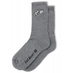 Last Resort AB Eyes Socks Grey Melange
