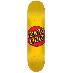 Santa Cruz Classic Dot Yellow Deck 7.75