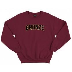 Gronze University Sweater Maroon