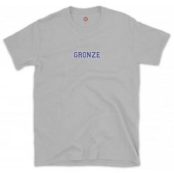 Gronze College Tee Ash Grey