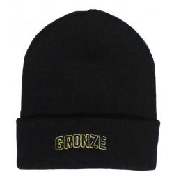Gronze University Beanie Black
