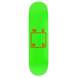 WKND Skateboards Logo Green Orange Deck 8.25