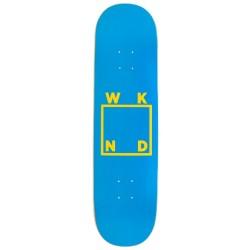 Planche WKND Logo Blue Yellow Deck 8.125