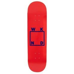 WKND Skateboards Logo Red Blue Deck 8.375