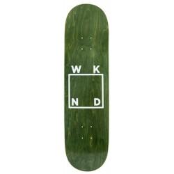 WKND Skateboards Glitter Logo Green Deck 8.5