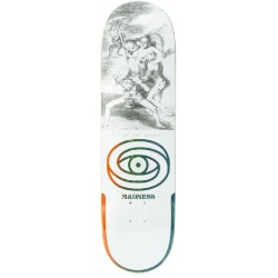 Madness Skateboards Donde R7 White Deck 8.5