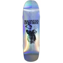 Madness Skateboards Back Hand Holographic R7 Deck 8.5