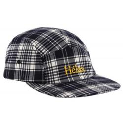 Hélas Checkered Cap Black