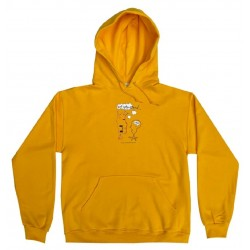 Frog Not Interested Pullover Gold