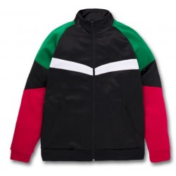 Veste Huf Worldwide Sprinter Track Jacket Black