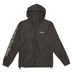 Veste Chrystie NYC OG Logo Windbreaker Gray 3M Reflective.