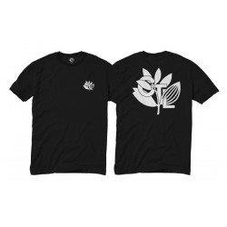 T-Shirt Magenta X Central Skate Shop CTL Plantlife Tee Black