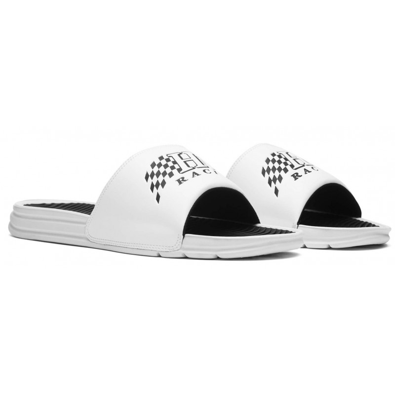 Claquette Huf Worldwide Slides White