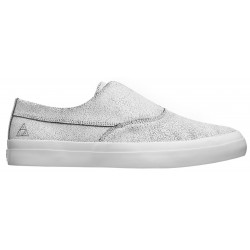 Chaussure Huf Footwear Dylan Slip On White Black
