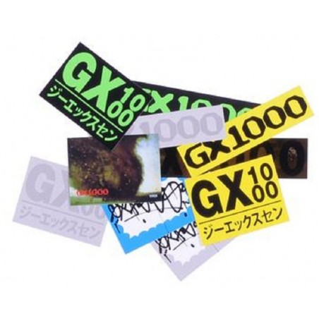 Pack de 10 Stickers GX1000